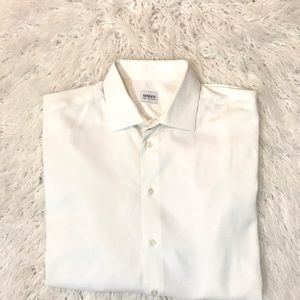 Armani Collezoni White Button down shirt